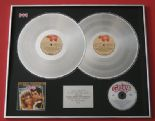 GREASE - John Travolta Olivia Newton-John PLATINUM DOUBLE LP & CD